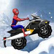 Игра Игра Человек паук: гонки на скутере