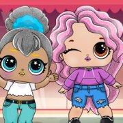 Игра Игра Куклы Лол Сюрприз: VSCO Девочки