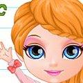 Игра Игра Малышка Барби: школьное утро