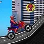 Игра Игра Езда Человека паука