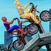 Игра Игра Спайдермен против Песочного человека