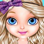 Игра Игра Малышка Барби блестящая мода