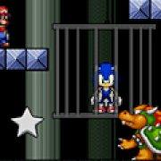 Игра Игра Супер Марио спасает Соника