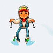 Игра Игра Сабвей серф лыжи