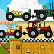 Игра Игра Тракторная драг гонка Марио