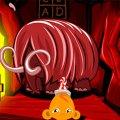Игра Игра Счастливая обезьянка: Уровень 281 Проблема Мамонта