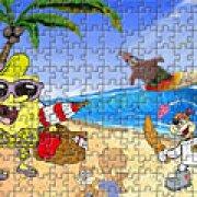 Игра Игра Губка Боб на пляже