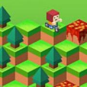 Игра Игра Майнкрафт: вниз по склону
