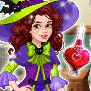 Игра Игра Ведьмы: волшебное зелье Оливии