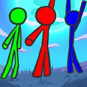 Игра Игра Стикмен На Троих: Приключения На Фруктовом Острове