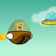 Игра Игра Губка Боб в летающей тарелке