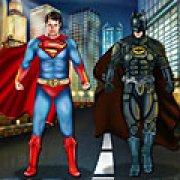 Игра Игра Бэтмен против Супермена одевалки