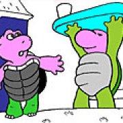 Игра Игра Раскраски: черепахи