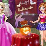 Игра Игра Холодное сердце Хэллоуин вечеринка