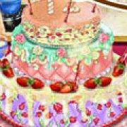 Игра Игра Торт на день рождения Барби