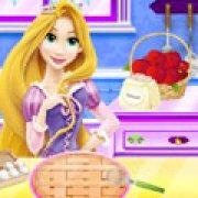 Игра Игра Рапунцель готовит яблочный пирог