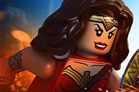 Игра Блог Чудо Женщина как фигурка Лего: плакаты из фильма
