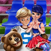 Игра Игра Леди Баг: летняя мода для пар