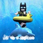 Игра Игра Лего Бэтмен гонщик на дельфине