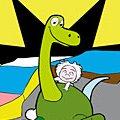 Игра Игра Раскраска хороший динозавр: Арло и Дружок