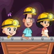Игра Игра На троих: папа, мама и сын шахтеры