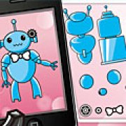 Игра Игра Влюбленные красивые роботы