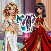 Игра Игра Модная Битва: Принцесса Против Злодейки
