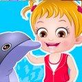 Игра Игра Малышка Хейзел: Тур к дельфинам