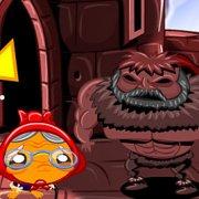 Игра Игра Счастливая обезьянка: Уровень 450 Викинг Ледяной Король Часть 4
