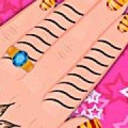 Игра Игра Принцесса Барби: маникюр