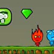 Игра Игра Огонь и Вода против инопланетян