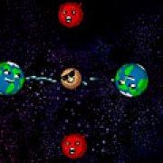 Игра Игра Злые астероиды