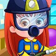 Игра Игра Малышка Хейзел пожарный