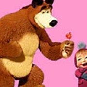 Игра Игра Маша и Медведь скрытые звезды