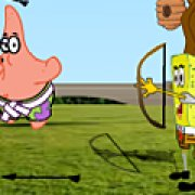 Игра Игра Губка Боб: супер лучник