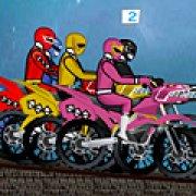 Игра Игра Могучие рейнджеры: гонка