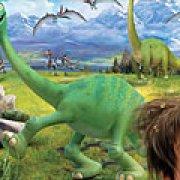 Игра Игра Пазлы хороший динозавр