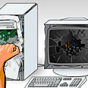 Игра Игра Разбей компьютер