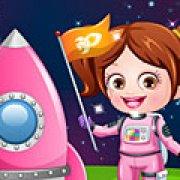 Игра Игра Малышка Хейзел астронавт