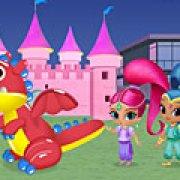 Игра Игра Шиммер и Шайн: принцесса и дракон