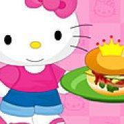 Игра Игра Хелло Китти готовит бургер