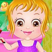 Игра Игра Гигиена ванной малышки Хейзел