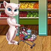 Игра Игра Анжела в магазине за покупками