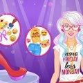 Игра Игра Эмодзи дизайн обуви Барби