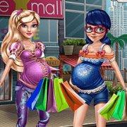 Игра Игра Леди Баг и Барби: Беременный шопинг