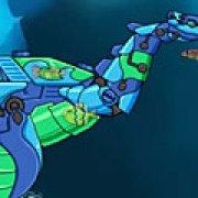 Игра Игра Трансформеры ремонт плезиозавра