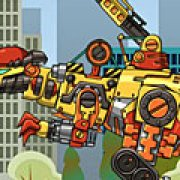 Игра Игра Роботы динозавры ремонт Пахицефалозавра