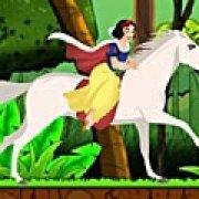Игра Игра Принцесса Белоснежка на лошади