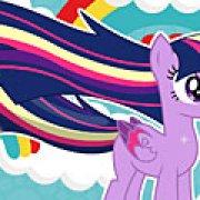 Игра Игра Пони Твайлайт Спаркл: радужная сила