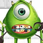 Игра Игра Лечение глаз: Корпорация монстров
